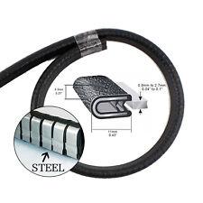 Auto Seal Trim Rubber Pinchweld Strip Door Toolbox Sharp Rough Edge Guard 4.5M