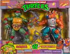 "2021 Playmates TMNT 6""Figure 1990's TV Cartoon 2-Pack Raphael vs Triceraton Excl"