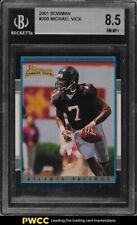 2001 Bowman Football Michael Vick ROOKIE RC #200 BGS 8.5 NM-MT+