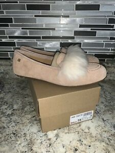 Womens Ugg Kaley Wisp Loafer Slippers Suede Size 7.5 New In Box