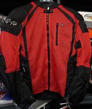 Joe Rocket Mens mesh textile Phoenix ion ultra reflective jacket XXXL 3X RED