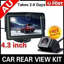 """CAR REAR VIEW KIT 4.3"""" TFT LCD MONITOR +HD CAR REVERSING CAMERA 170° WIDE Angle"""