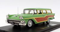 Goldvarg 1/43 Scale GC-014B - 1958 Ford Country Squire - Green 1 Of 235