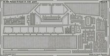 Eduard 1/35 PhotoEtch detail for Panzer IV Ausf. H for Zvezda kit - 36356