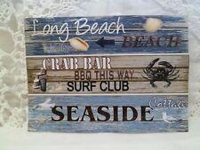POSTKARTE-Grußkarte-Vintage-Retro-Shabby-Meer-Beach-Strand-maritim-5045