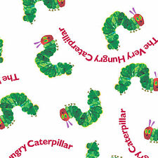 """ANDOVER """"THE VERY HUNGRY CATERPILLAR"""" CATERPILLARS Red/Green by yard"""