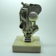 Personalised 5 Inch Golf Theme Gold Tone Trophy