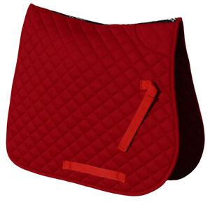 Saddle Cloth , classic style, Red, Pony .last few so sale price!