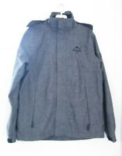 Crivit Northern Summit Outdoor Waterproof Men's Grey Jacket Size 42
