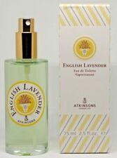 English Lavender Eau de Toilette Vaporisateur 75 ml cologne Nouveau Lavanda