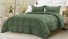 Box Stitching Stripe Down Alternative Comforter 2-Piece Twin Set, Select Color