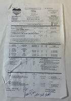 2008 LITTLE BRITAIN USA original tv show CALL SHEET