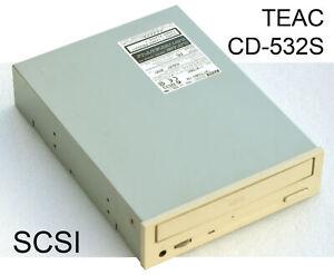 Teac CD-532S CD - ROM CD Drive SCSI 50-PIN Very High Quality Cdrom Drive V226