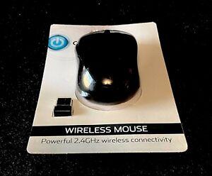 Onn Black 2.4 GHz Wireless Wheel Mouse