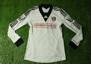 Fulham FC 47 Brand Offizielles Fu/ßball Geschenk Herren Gestrickt Bronx M/ütze