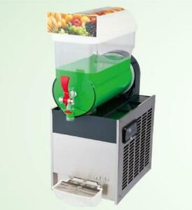 Commercial 1* 15L tank slush machine,ice slushy frozen drinks machine