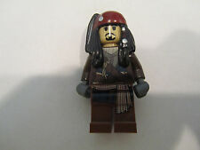 LEGO Pirates of the Caribbean Jack Sparrow MiniFigure From Figure Set 30132