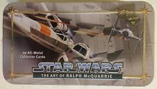 Star Wars Ralph McQuarrie Art Factory Set 20 Metal Cards Only 12 000 Made