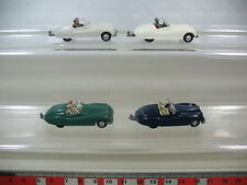 L14-0,5# 4x Wiking H0 Modèles/Modèles réduits de voitures, Sport Jaguar 20, TOP