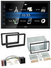JVC 2DIN Bluetooth MP3 AUX USB Autoradio für Alfa Romeo 159 Spider Brera ab 05 N