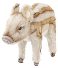 Young wild boar collectable plush soft toy by Hansa - 33cm - 5026