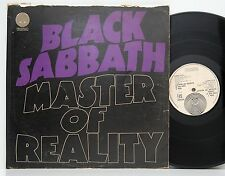 Black Sabbath          Master of reality        Swirl        VG +  # W