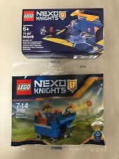 LEGO® Nexo Nights, Robin's Fortrex 30372 & Battle Station 5004389 - New & Sealed