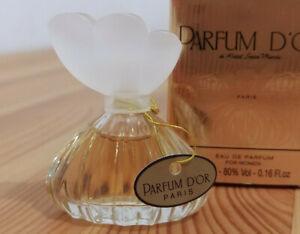 "VTG Miniature ""Parfum D'or"" by Kristel Saint Martin // 0.16 oz. 5ml"