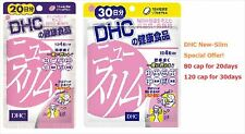 new DHC New Slim Supplement 20/30 days Soft Capsules JAPAN F/S