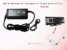 AC Adapter For Klipsch Gallery G-17 Air Airplay Sound Bar Speaker Power Supply