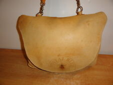 Tan Leather U.S Postal Services POSTAL BLUE Mailman Messenger Saddle Carrier Bag