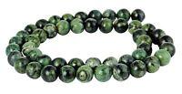 😏 Kambaba Jaspis Eladarit Kugeln 6 & 8 mm Edelstein Perlen Strang 😉