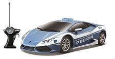 Modellini di auto e moto radiocomandati blu in plastica su strada
