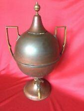 "Antique 22"" Copper Samovar Coffee Tea Urn Griffiths & Browett of Birmingham"