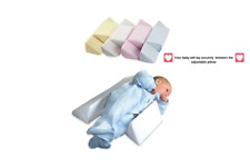 Newborn Infant Baby Pillow Prevent Anti Roll Flat Head Neck Cushion Pillow newKH