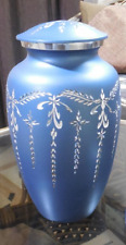 Great Colors Blue Cremation Urn Peace Adult Urn Ashes Urn 220 Cubic Inches