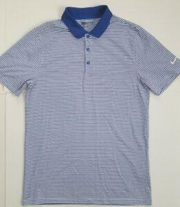 Nike Men's Victory Stripe Golf Polo Shirt Size Small 725520-480