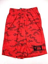 Medium Basketball Gym Shorts NBA Red Mens Basketball Running Long Length Jogger