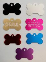 Personalised Pet Id Tag,Dog Identification Tags,Engraved,deep engraving,dog Tags