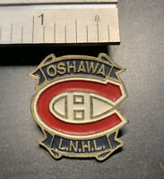 Vintage Collectible Oshawa Ontario Youth Hockey Metal Enamel Pin - VG Condition