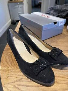 Black New Ara Shoes Size 61/2