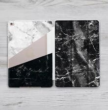 Marble Back Case Smart Cover For Apple iPad Pro 9.7 2017 10.2 Air 2 Mini 1 2 3 4