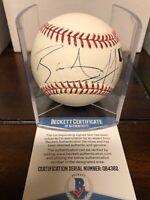 Blake Griffin Autographed Official Rawlings MLB Baseball Panini & Beckett COA