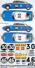 STUDIO27 1/24 CITROEN DS19 SAFARI RALLY 1965 #30 #46 DECAL for EBBRO