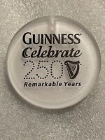 """Guinness Beer Promo Advertising Button pin 2"""" round Beermania 250 Years St. Pats"""