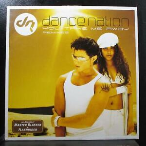 "Dance Nation - You Take Me Away (Remixes) 12"" New RTD103.4118.0 Germany"