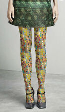 Unique Luxury  Dotty Multi Color Abstract Oil Painting Print Pantyhose/Tights