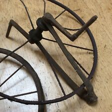 Veteran bicycle wheels - possibly from a Fairy Cycle? - heritage project