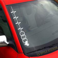 Aufkleber Herzschlag Audi Love my Audi Herz Liebe Audi quattro sticker
