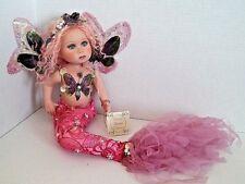 Show Stopper mermaid doll Florence Maranuk porcelain pink limited girl Raspberry
